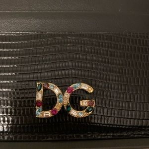 Dolce & Gabbana Accessories - Dolce and gabbana black leather card holder